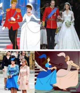 a cinderella story - kate middleton and prince william