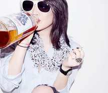 drunk woman - psychology
