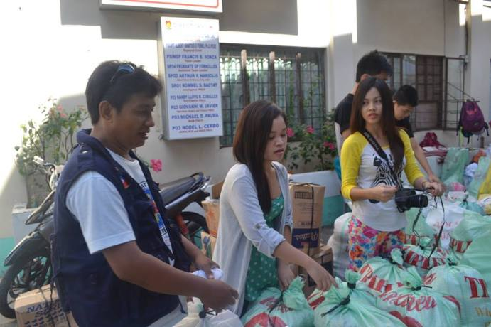 Davao City Send Relief Goods to Typhoon Victims