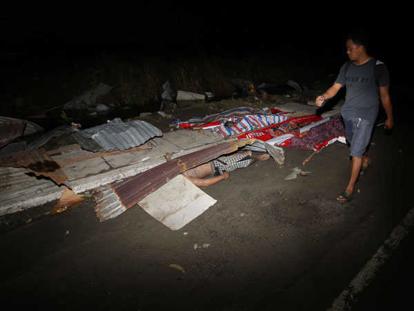 Yolanda victims dead body