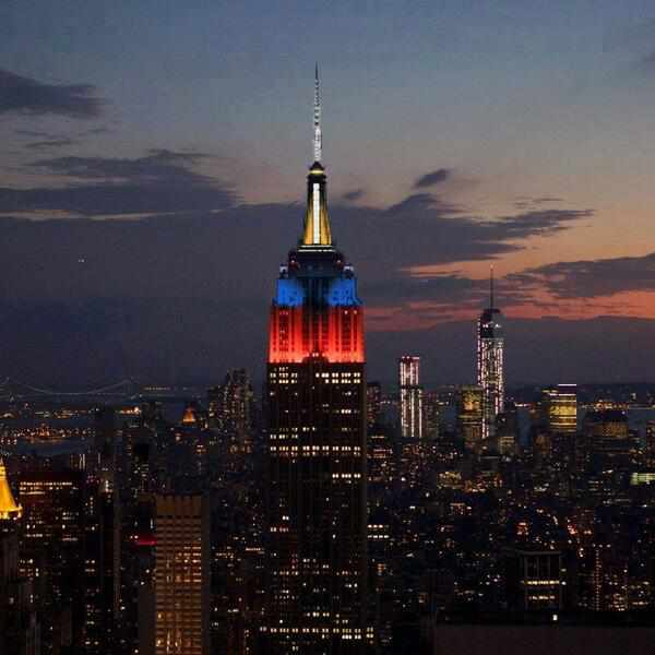 Haiyan Empire State Building Relief